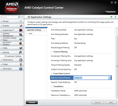 amd catalyst control center ccc
